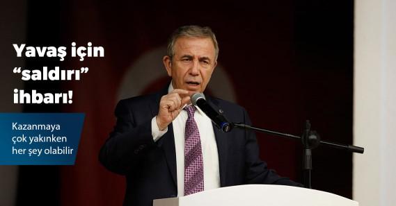 """Mansur Yavaş'a saldırı planı"" iddiası"