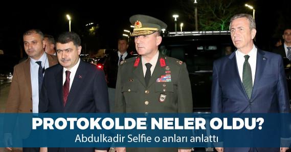 """""""Erdoğan, Yavaş'ı görünce elini sıktı, 'Hayırlı olsun' dedi"""""""