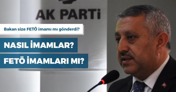 """AKP'li aday: """"Bakan bana imam yolladı, cami imamı zannettim; meğerse farklı bir imammış"""""""
