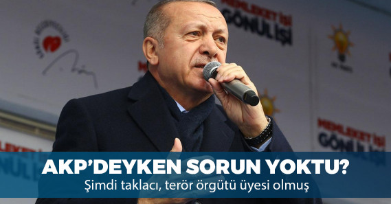 """Erdoğan'dan İdris Naim'e: """"Terör örgütüyle bir olup bize parmak sallayan taklacı"""""""
