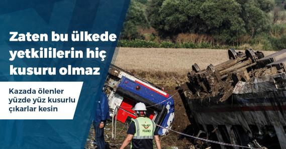 TCDD, Çorlu'daki kazada kusurlarının bulunmadığını iddia etti