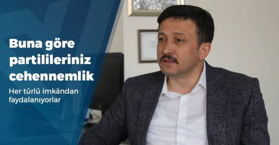"""AKP Genel Başkan Yardımcısı: """"Bir belediye başkanının, belediye bütçesinden reklam yapması kul hakkıdır"""""""