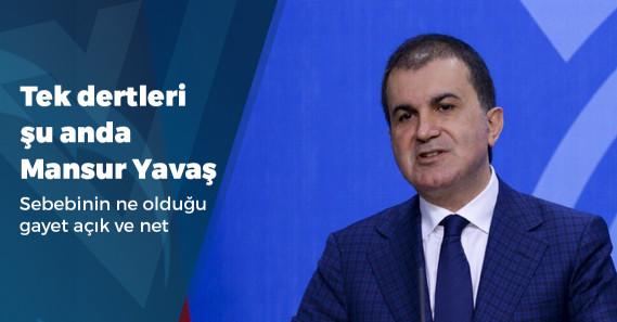"""AKP'li Ömer Çelik: """"Bizim Mansur Yavaş meselemiz yok, bu CHP'nin meselesi"""""""