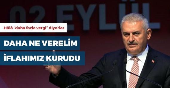 """Binali Yıldırım: """"İstanbul'dan daha çok vergi almamız lazım"""""""