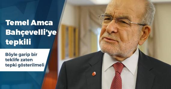 """Karamollaoğlu'ndan Bahçeli'ye: """"Seçim yapmasak daha iyi olur, iktidar milletvekillerini de belirler"""""""