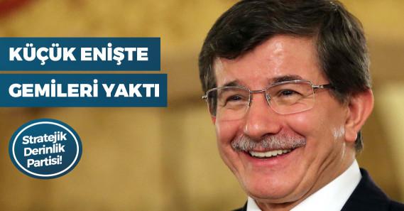 """""""Davutoğlu, """"AK Parti ister yüzde 35, ister yüzde 55 oy alsın biz yola çıkıyoruz' dedi"""""""
