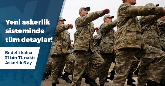 Yeni askerlik sistemiyle ilgili kanun teklifi Meclis Başkanlığı'na sunuldu