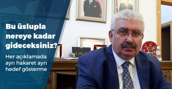 MHP'li Yalçın'ın hedefinde yine gazeteciler var