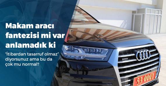 Türkiye'de kamuya ait ne kadar araç var?