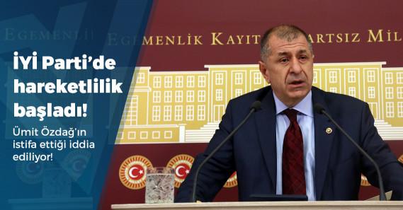 """""""İYİ Partili Ümit Özdağ partideki görevinden istifa etti"""" iddiası!"""