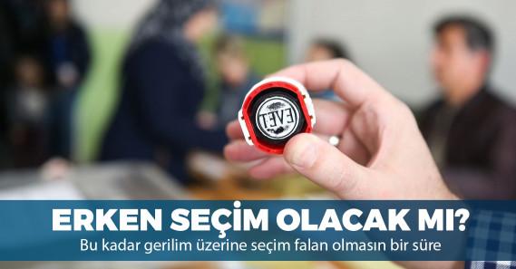 Türkiye yeniden erken seçime mi gidecek?