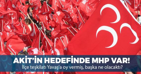 """Yeni Akit: """"Keçiören'de MHP ilçe teşkilatı Mansur Yavaş'a oy verdi"""""""