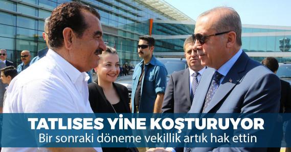 İbrahim Tatlıses Şanlıurfa'da Erdoğan'ın mitingine katılacak
